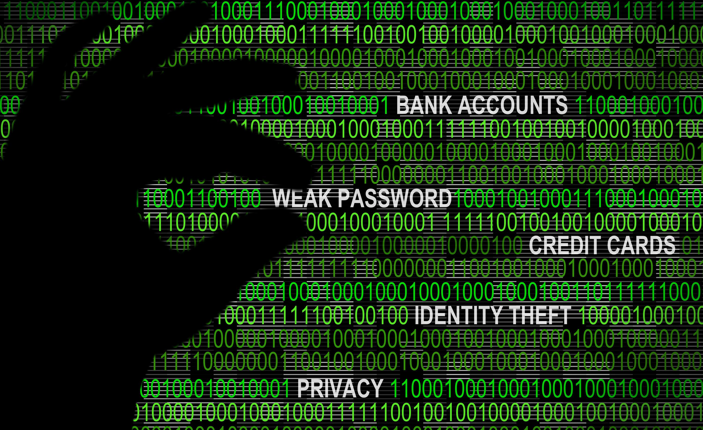 Cybersecurity - Weak Password Concept
